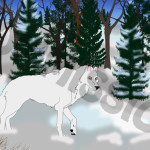 """Aniu In Snow"" commissioned by Enya Gaia"
