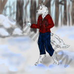 """Snowy Walk"" commissioned by Ensiam Wolfgang"